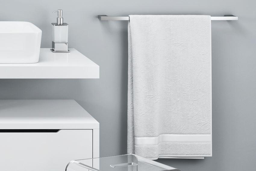Wieszak na ręcznik pojedynczy 60 cm chrom Excellent Rik