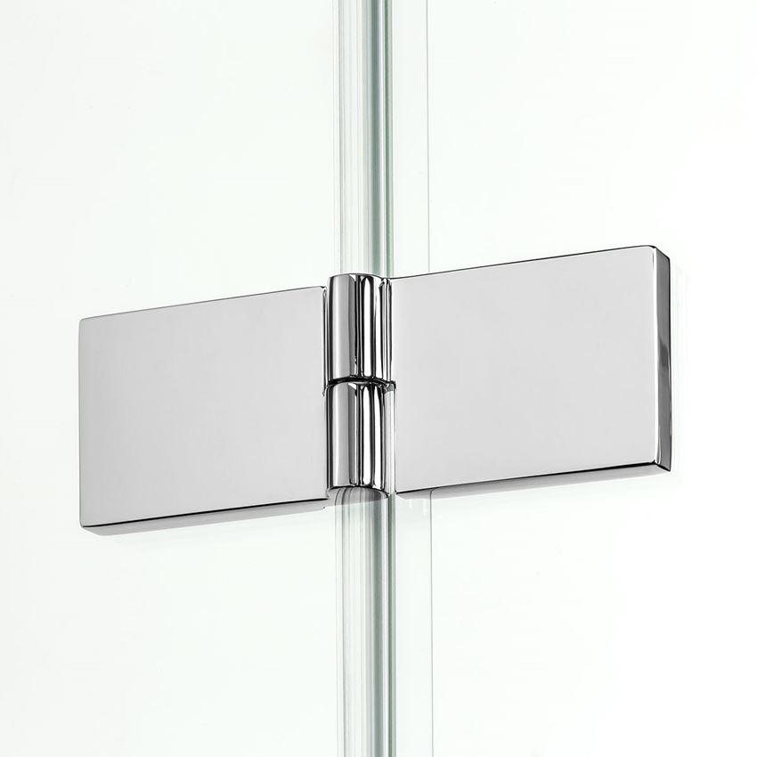 Zawias z funkcją unoszenia drzwi kabiny prysznicowej New Renoma