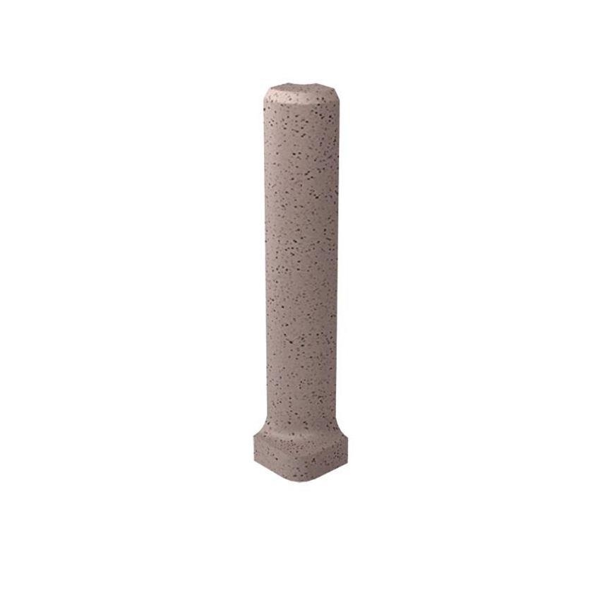 Dekoracja podłogowa 3x10 cm Paradyż Bazo Moka Profil Zewnętrzny Sól-Pieprz Mat