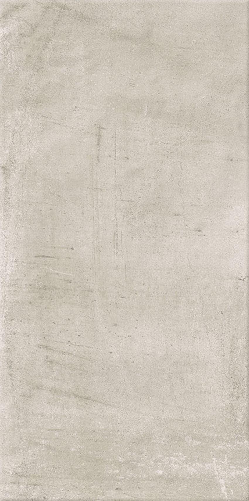 Płytka ścienno-podłogowa 29,8x59,8 cm Paradyż Hybrid Stone Bianco Gres Szkl. Rekt. Struktura