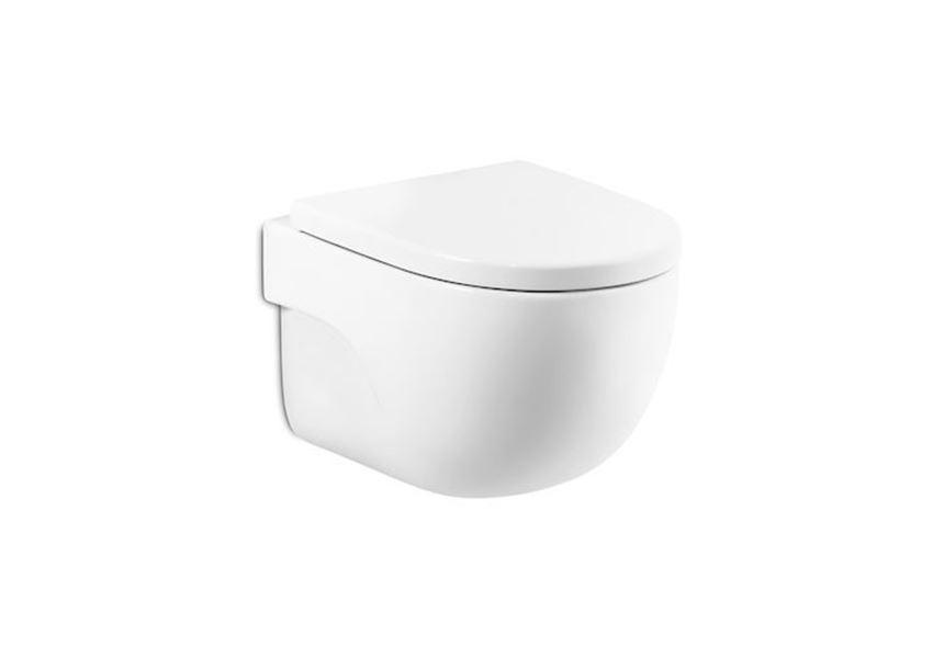 Miska WC podwieszana Rimless Compacto Roca Meridian