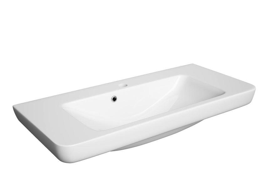 Umywalka ceramiczna 85x35 cm Defra Porto 85