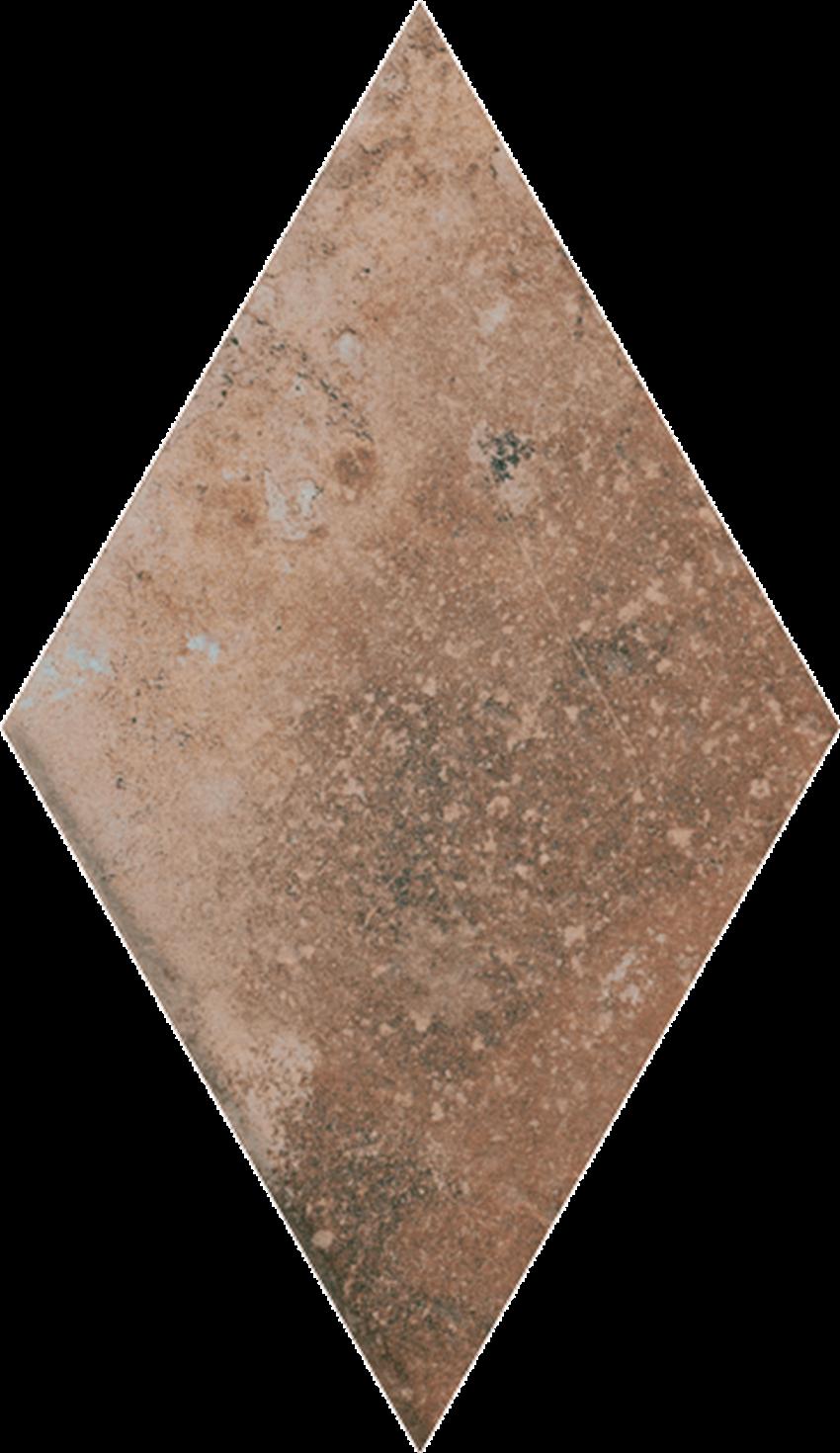 Dekoracja podłogowa 14,6x25,2 cm Paradyż Scandiano Rosso Romb
