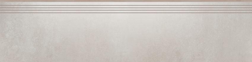 Płytka stopnicowa 29,7x119,7 cm Cerrad Tassero beige lappato