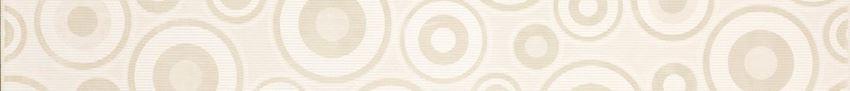 Listwa 5,3x50 cm Cersanit Synthia white border circles