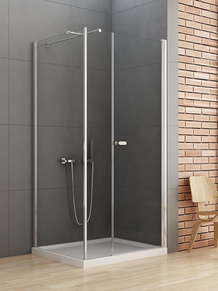 Kabina prysznicowa New Soleo pojedyncze drzwi