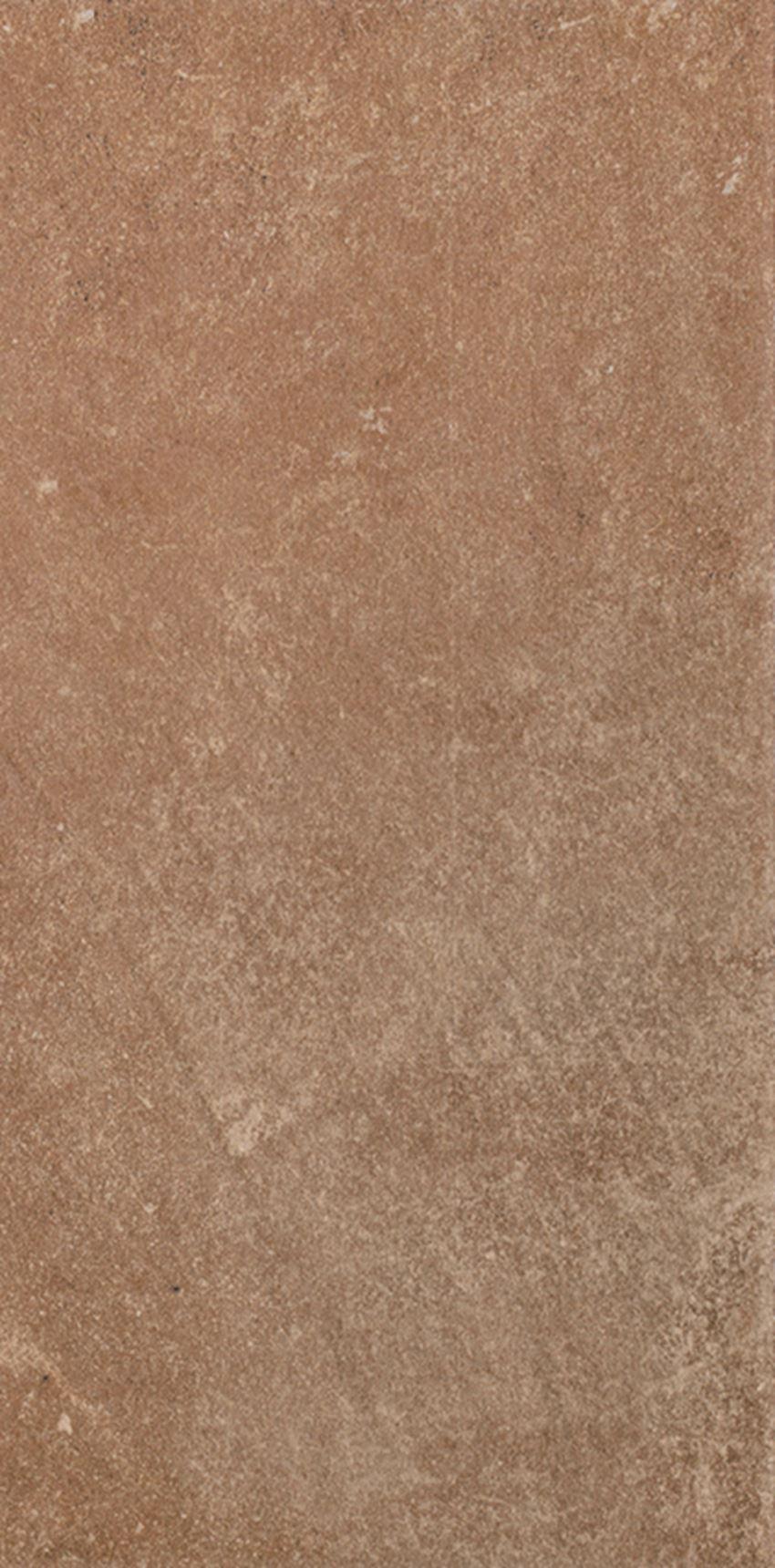 Płytka stopnicowa 14,8x30 cm Paradyż Scandiano Rosso Podstopnica