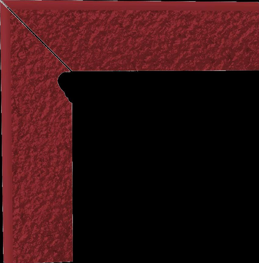 Płytka cokołowa 8x30 cm  Paradyż Natural Rosa Cokół 2 El.-Lewy Duro 8,1X30 G1