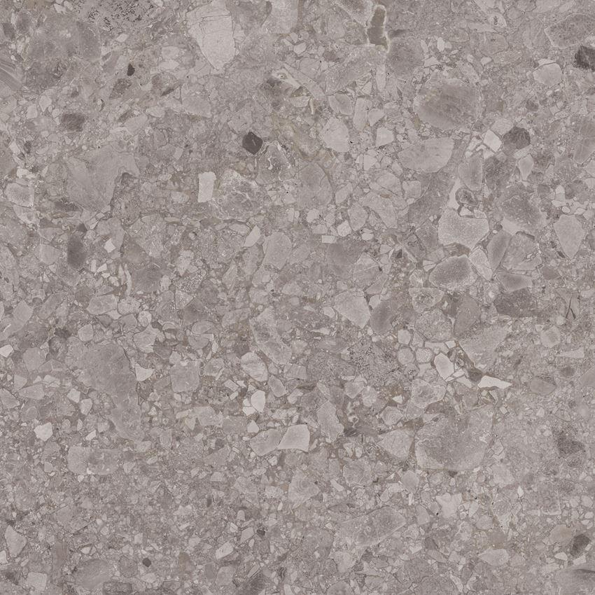 Płytka ścienno-podłogowa 59,8x59,8 cm Paradyż Granddust Grys Poler