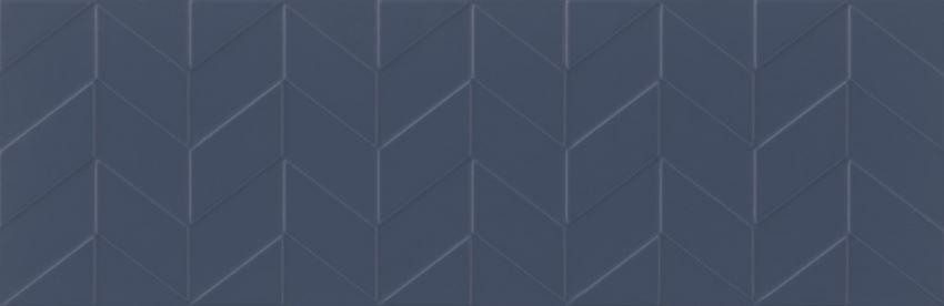 Płytka ścienna 29x89 cm Opoczno Love You Navy Structure Satin