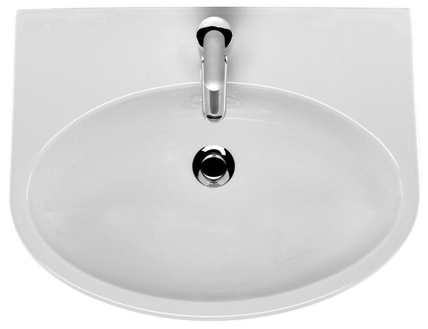 Umywalka wisząca 55 cm Cersanit Parva