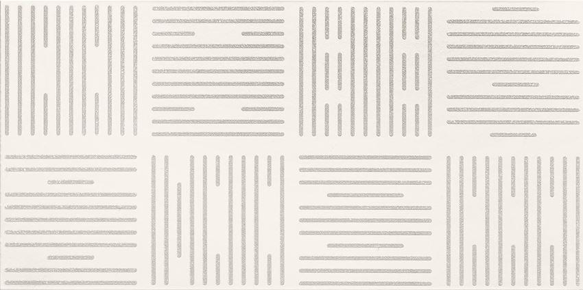 Dekor ścienny 60,8x30,8 cm Domino Burano stripes