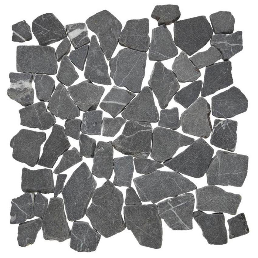 Mozaika 30,5x30,5 cm Dunin Zen Grind Stone dark