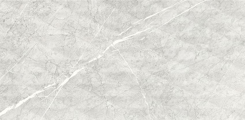 Płytka ścienn, 29x59 cm Cersanit Ps811 light grey satin structure