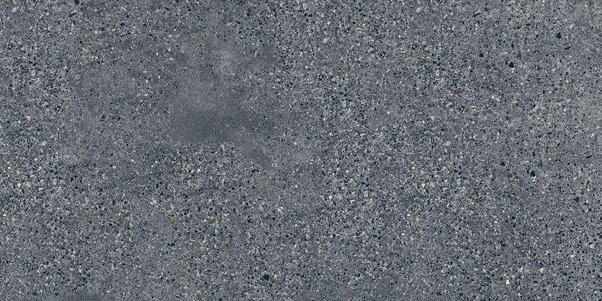 Płytka ścienno-podłogowa 59,8x119,8 cm Tubądzin Terrazzo graphite MAT