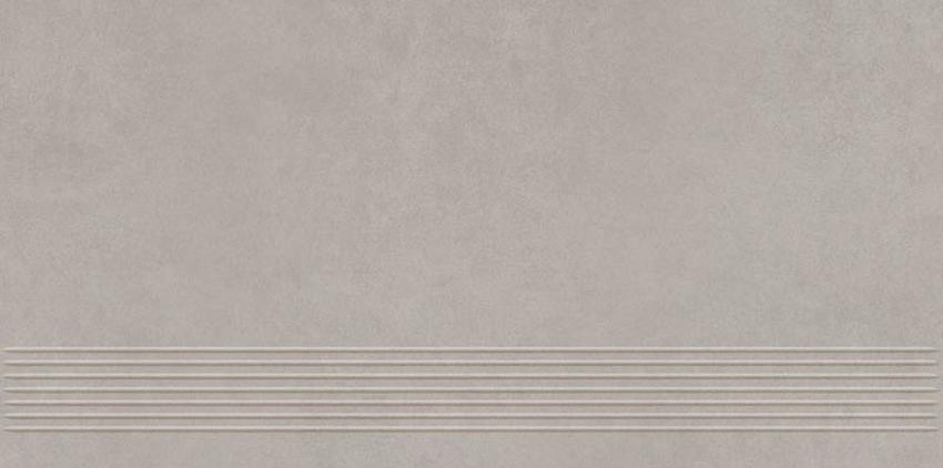 Płytka stopnicowa 29,8x59,8 cm Paradyż Intero Silver Mat