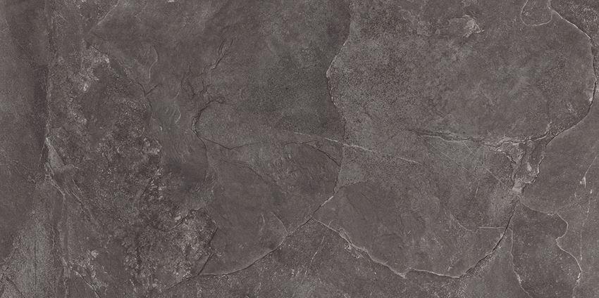 Płytka podłogowa 119,8x239,8 cm Tubądzin Grand Cave Graphite STR