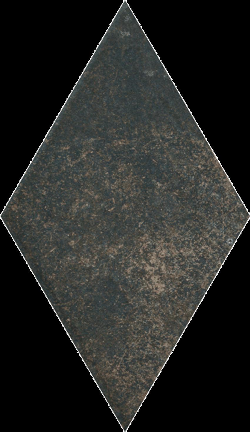 Dekoracja podłogowa 14,6x25,2 cm Paradyż Scandiano Brown Romb