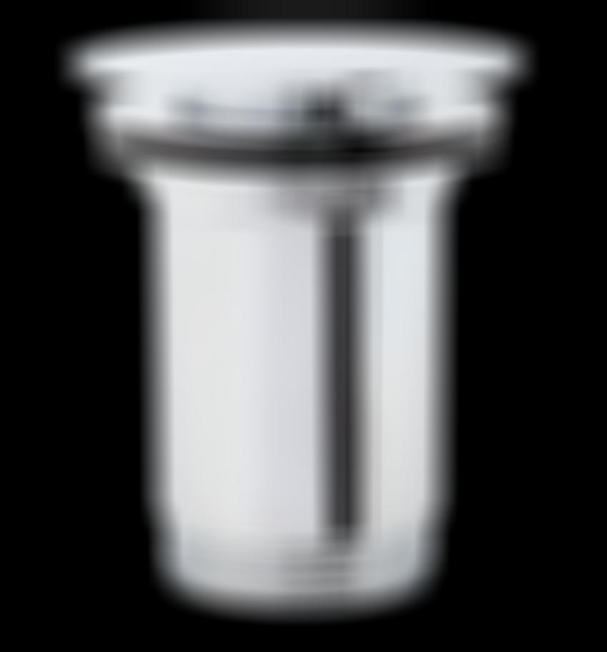 Korek klik-klak płaski chrom Omnires
