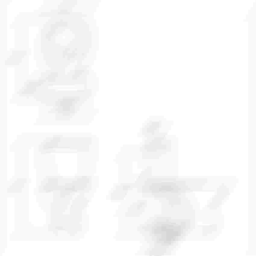 WC kompakt z deską polipropylenową Cersanit President rysunek techniczny