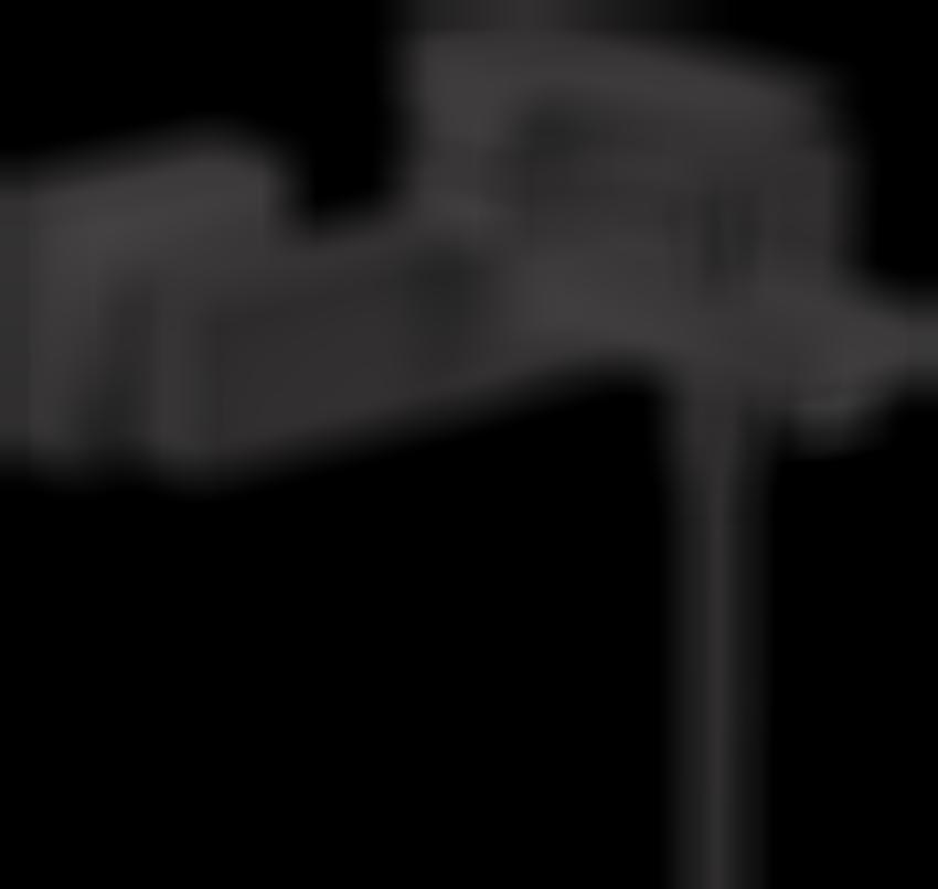 Jednouchwytowa bateria wannowa montaż natynkowy Hansgrohe Metropol