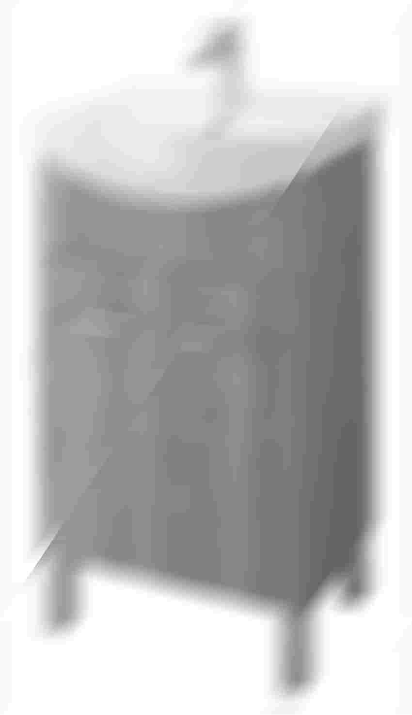 Szafka podumywalkowa orzech 31x46x80 cm Cersanit Olivia