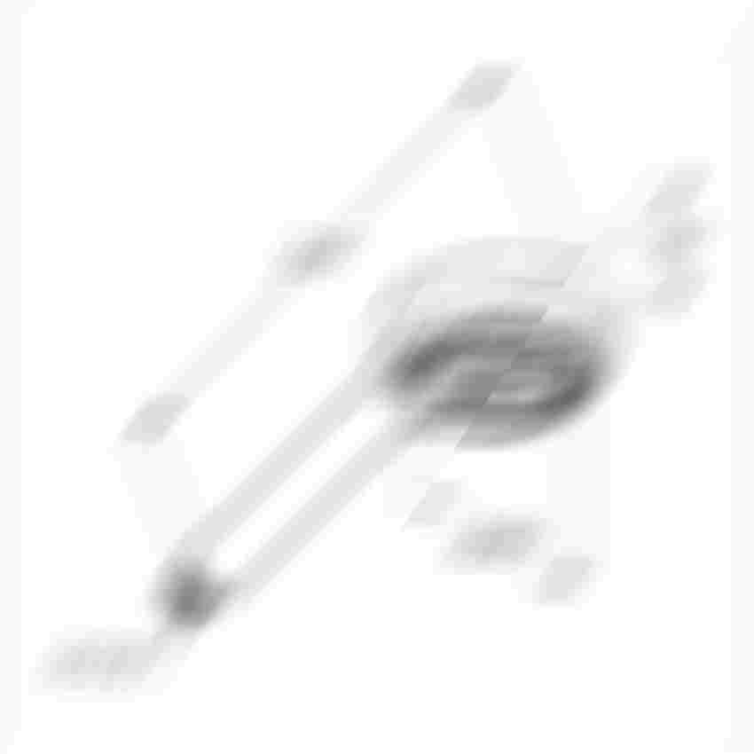Rączka natrysku Kludi Logo rysunek techniczny