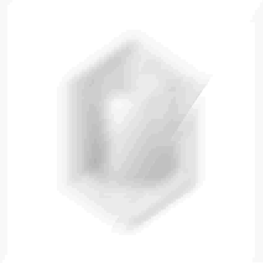 Kabina prysznicowa pięciokątna prawa New Trendy New Azura rysunek techniczny