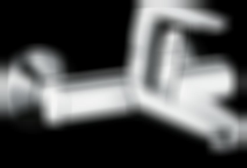 Jednouchwytowa bateria umywalkowa ścienna Hansgrohe Focus