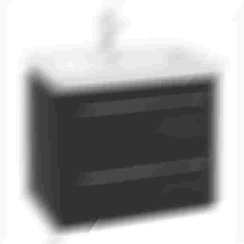Zestaw szafki z umywalką 65x16x45 cm Azario Neo D65 L3062 graphite