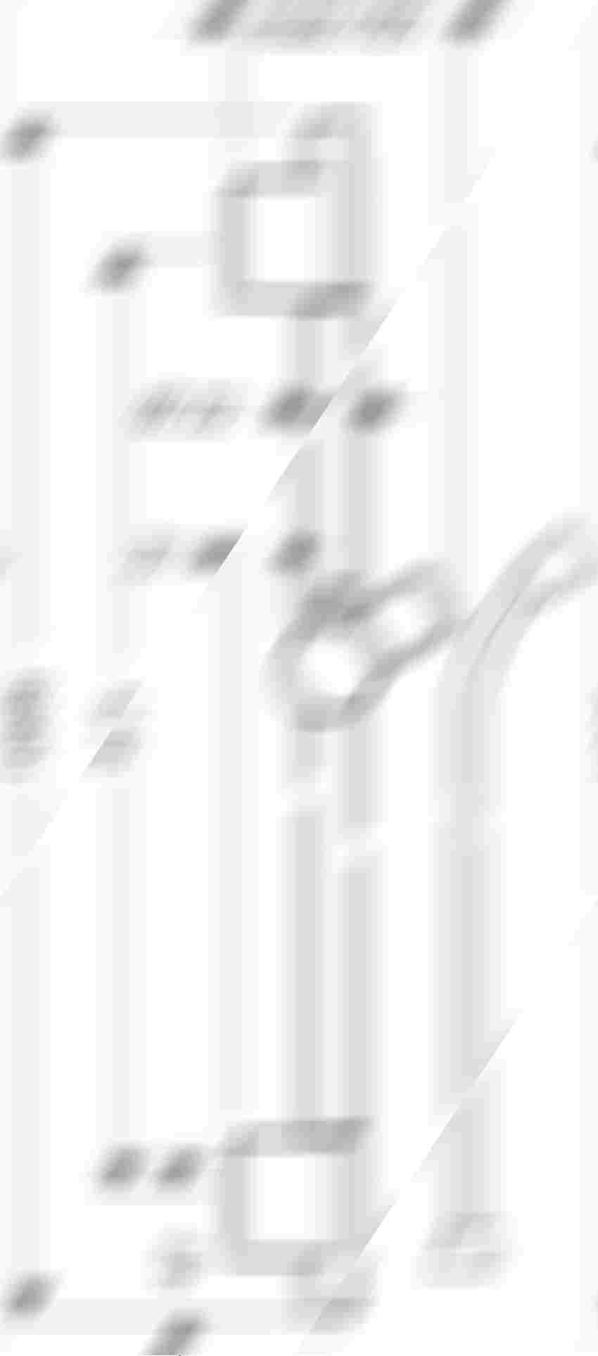 Drążek prysznicowy S Puro 90 cm z wężem Hansgrohe Unica rysunek techniczny