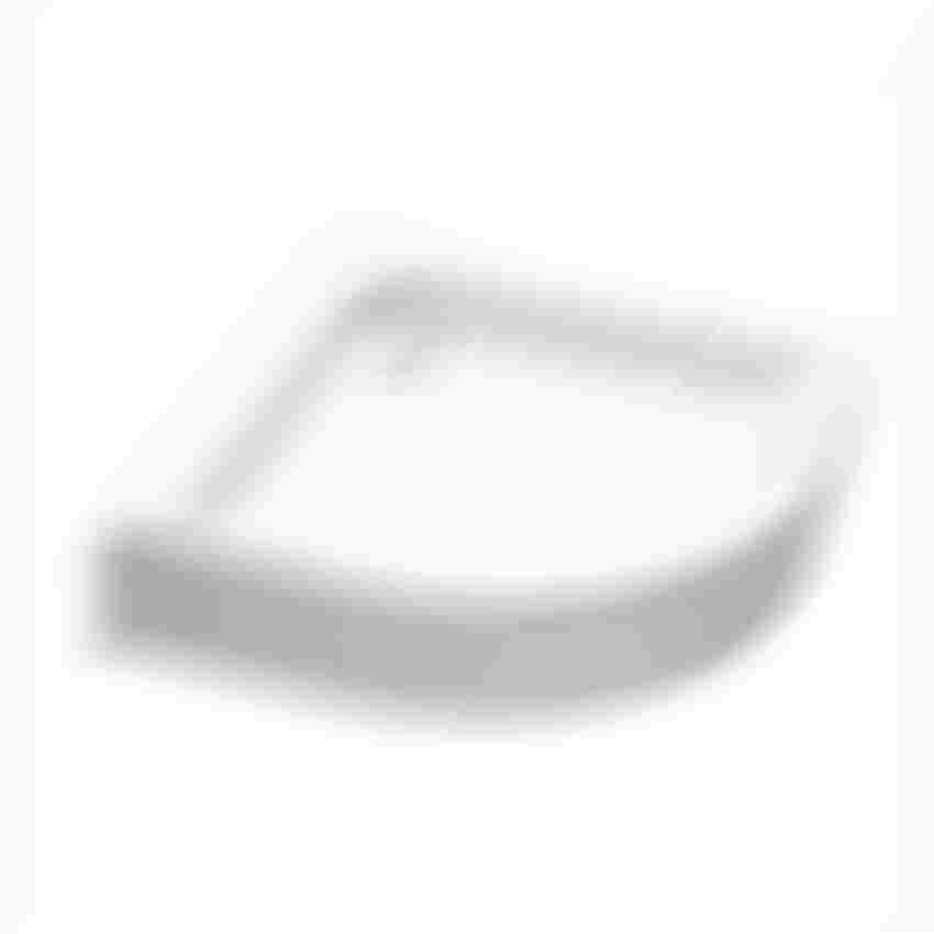 Brodzik półokrągły ze zintegrowaną obudową Koło Standard Plus