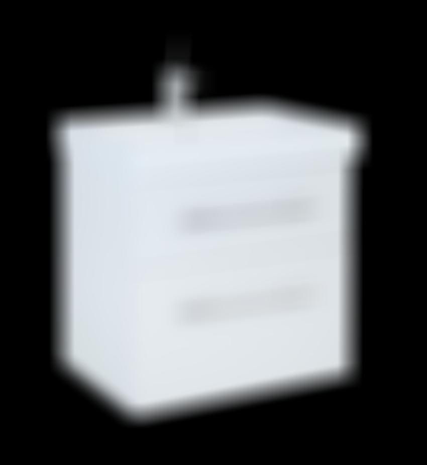 Szafka podumywalkowa 60 cm Elita Barcelona 60 2S White