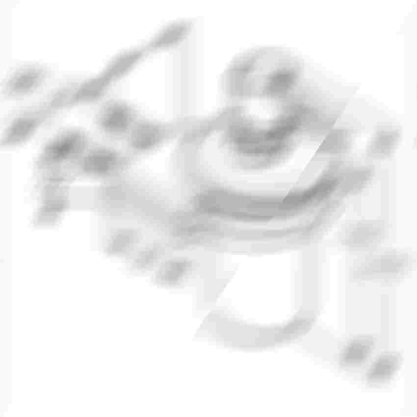 Dozownik do mydła wiszący Kludi A-XES rysunek techniczny