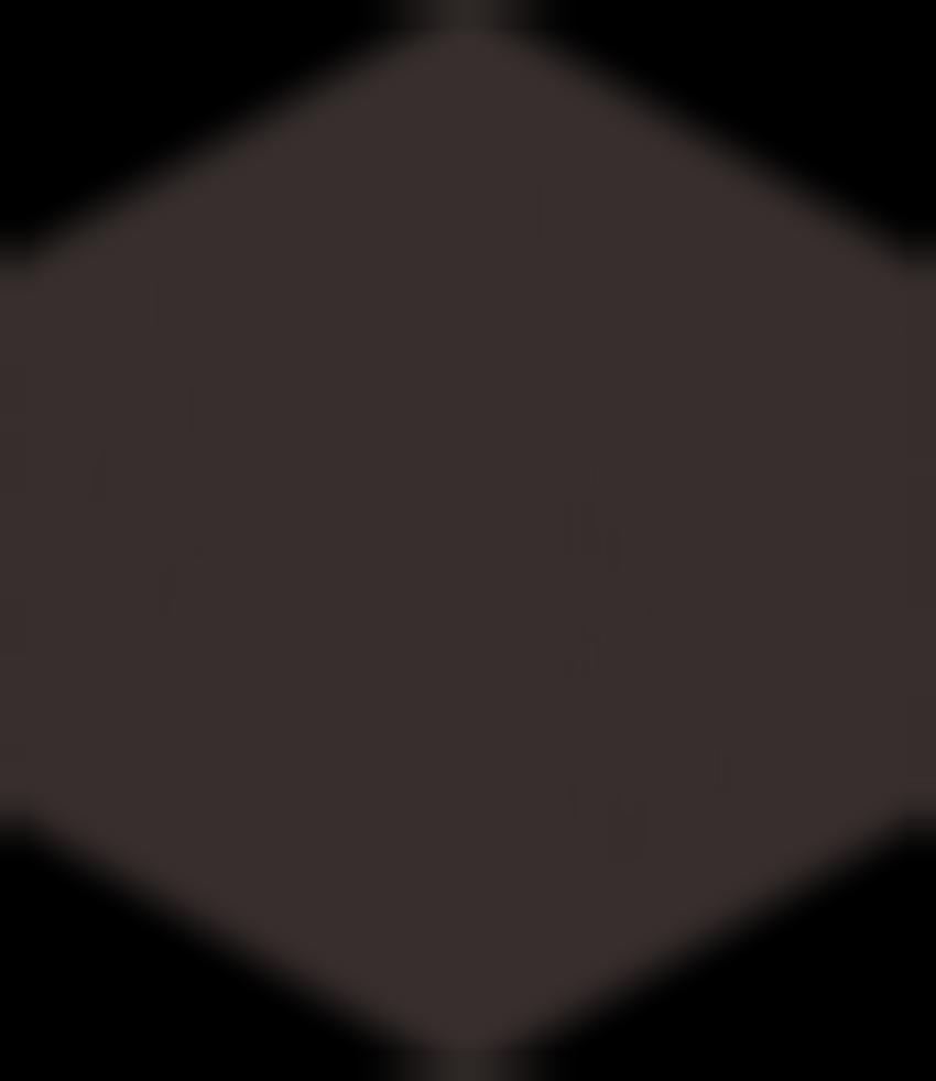 Płytka ścienno-podłogowa 17,1x19,8 cm Paradyż Modernizm Nero Gres Mat