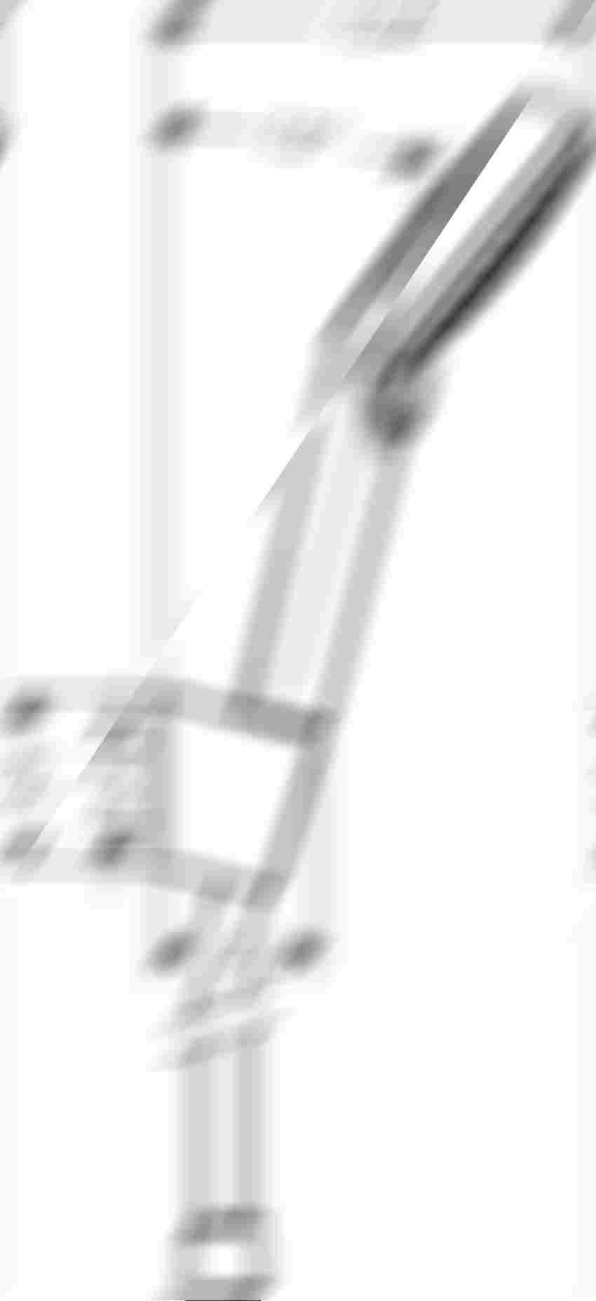 Punktowy zestaw prysznicowy Hansgrohe Crometta rysunek techniczny