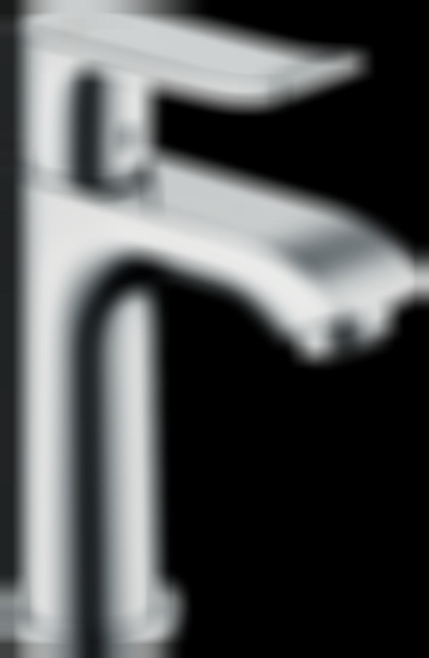 Jednouchwytowa bateria umywalkowa 100 z cięgłem Hansgrohe Metris