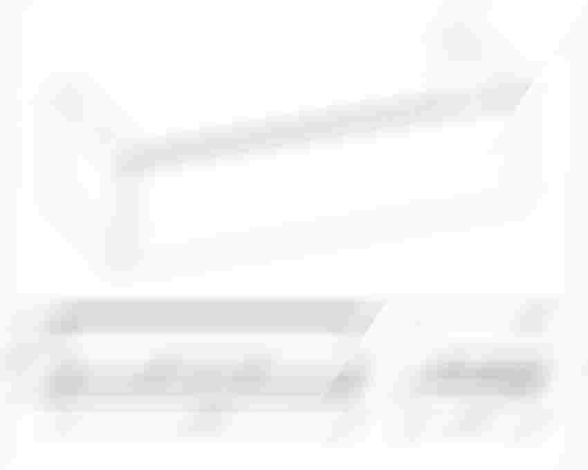 Komoda bez blatu 100 cm Elita Look rysunek techniczny