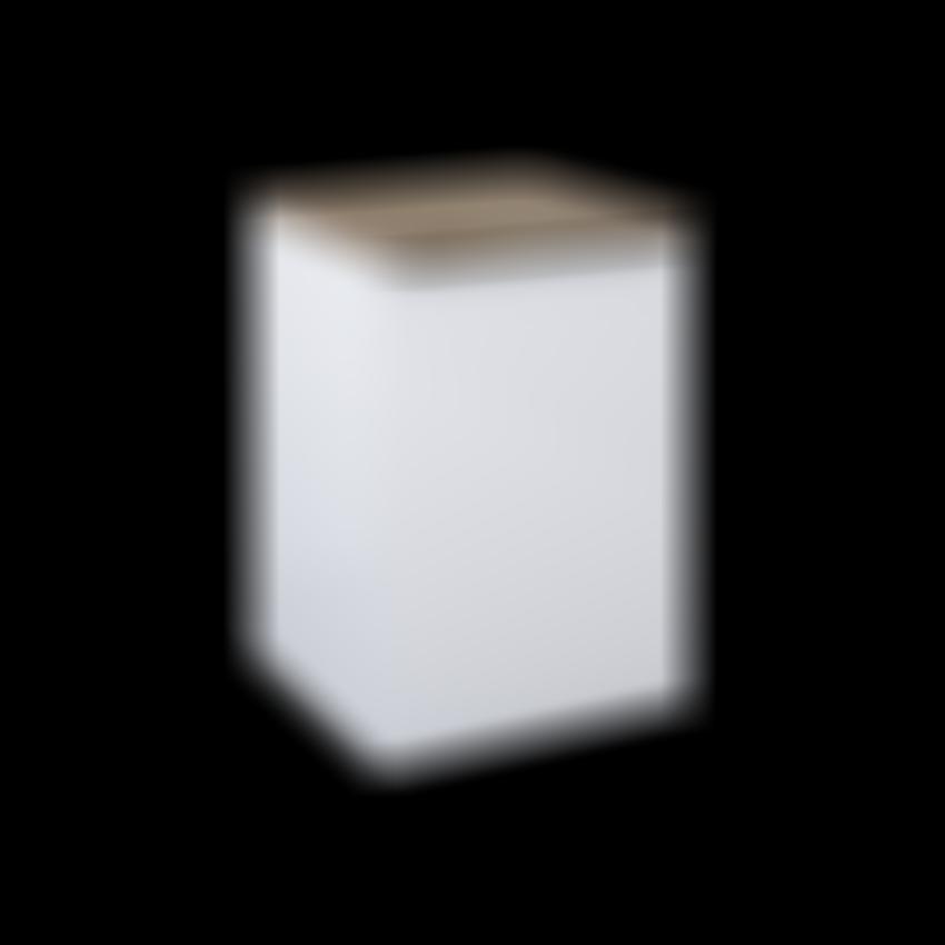 komoda z koszem Elita Lofty 50 Cargo White 167029 4