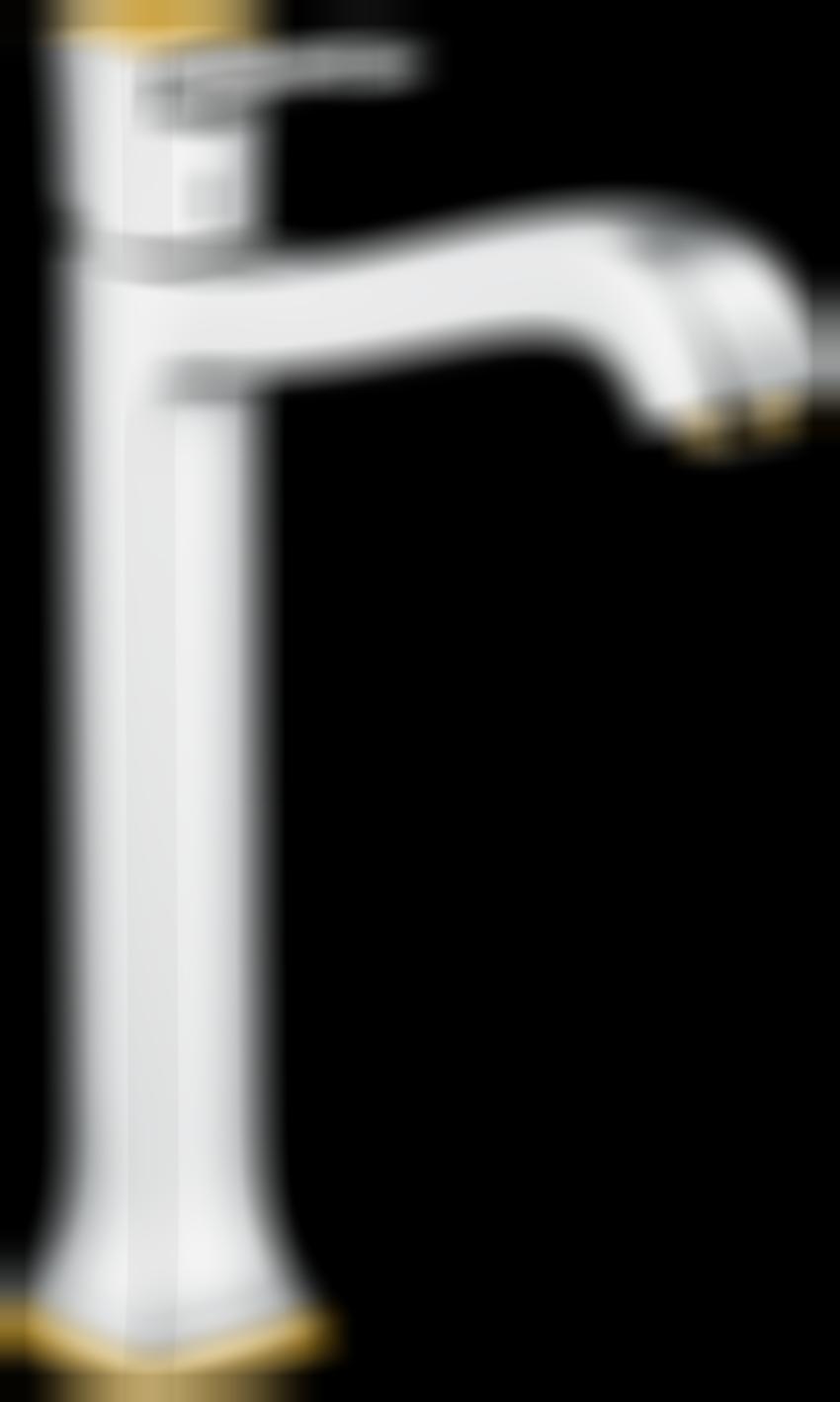 Jednouchwytowa bateria umywalkowa 260 z cięgłem Hansgrohe Metropol Classic