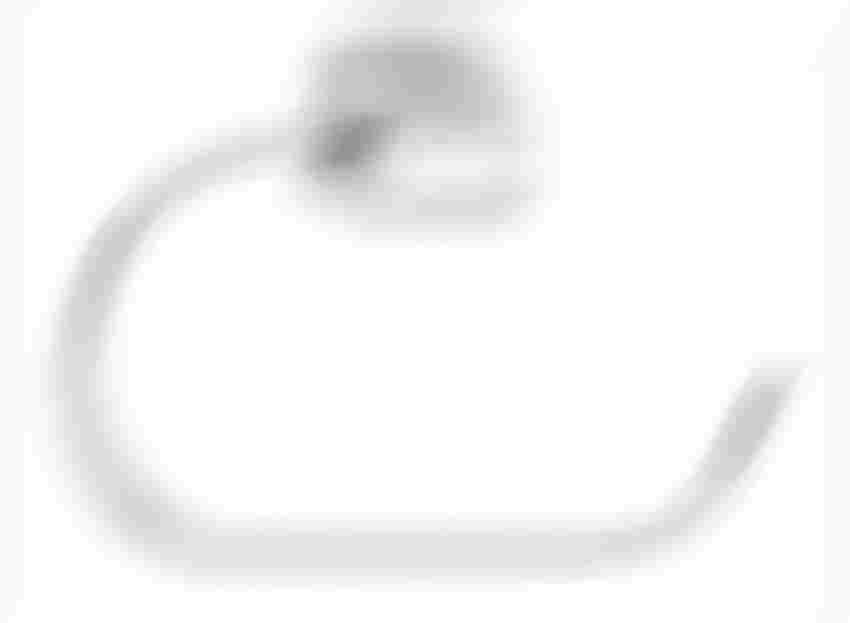Wieszak na ręcznik okrągły Ferro Cascata