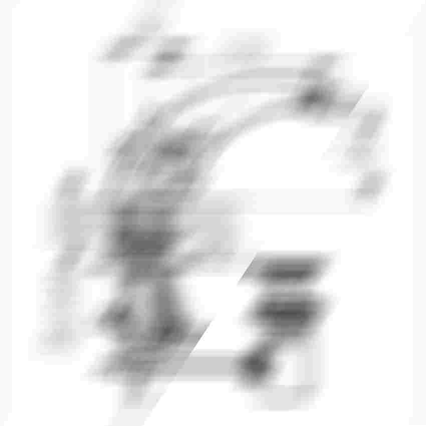 Bateria bidetowa Ferro Retro New rysunek techniczny