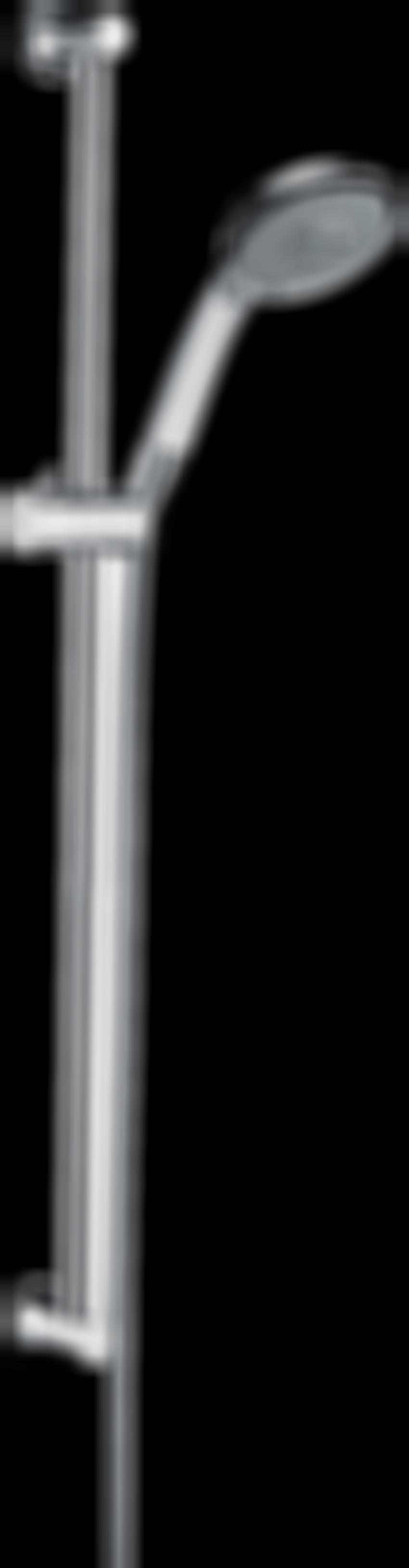 Zestaw prysznicowy 100 3jet z drążkiem 65 cm Hansgrohe Raindance Classic