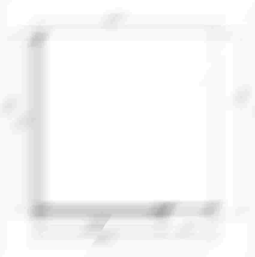 Kabina kwadratowa Omnires Manhattan rysunek techniczny