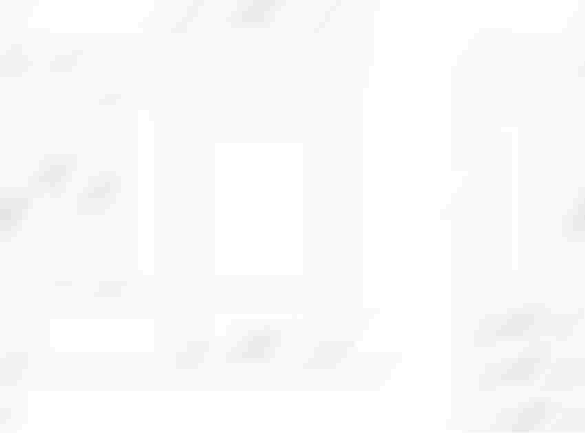 Szafka z umywalką 45 cm Koło Nova Pro rysunek techniczny