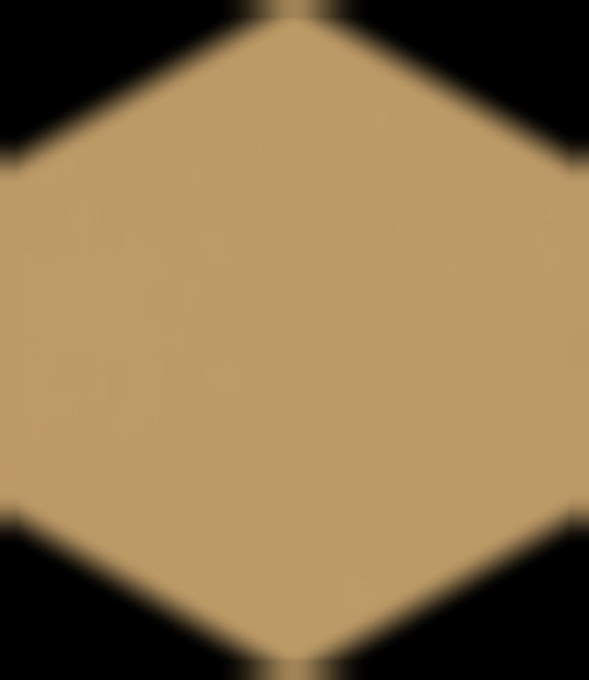 Płytka ścienno-podłogowa 17,1x19,8 cm Paradyż Modernizm Ochra Gres Mat