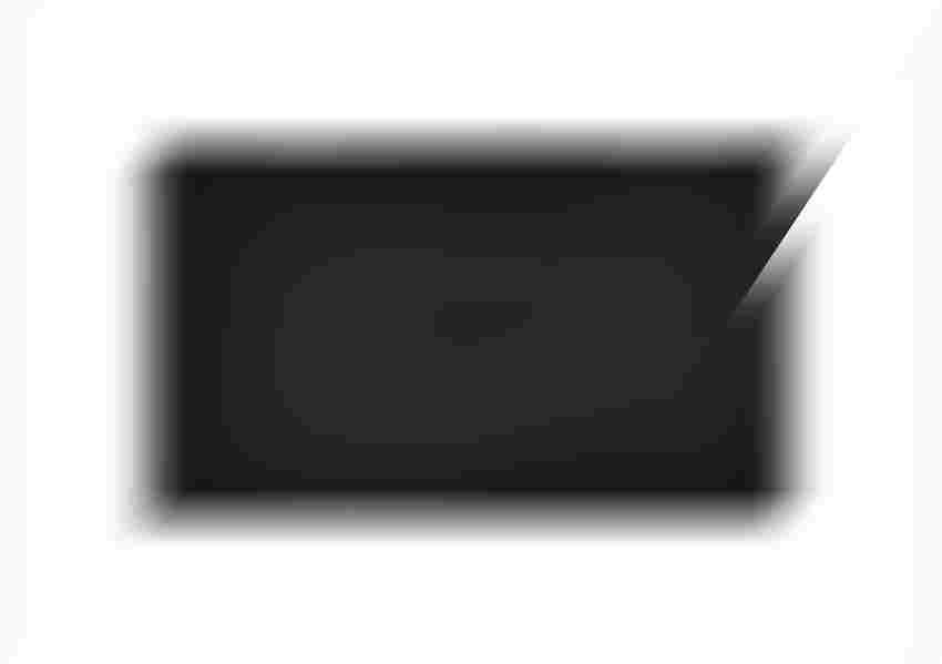 Brodzik prostokątny czarny Roca Helios