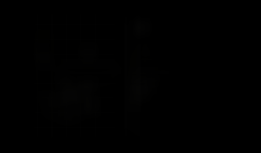Bateria umywalkowa z termostatem z rączką Bidetta Oras Optima rysunek techniczny