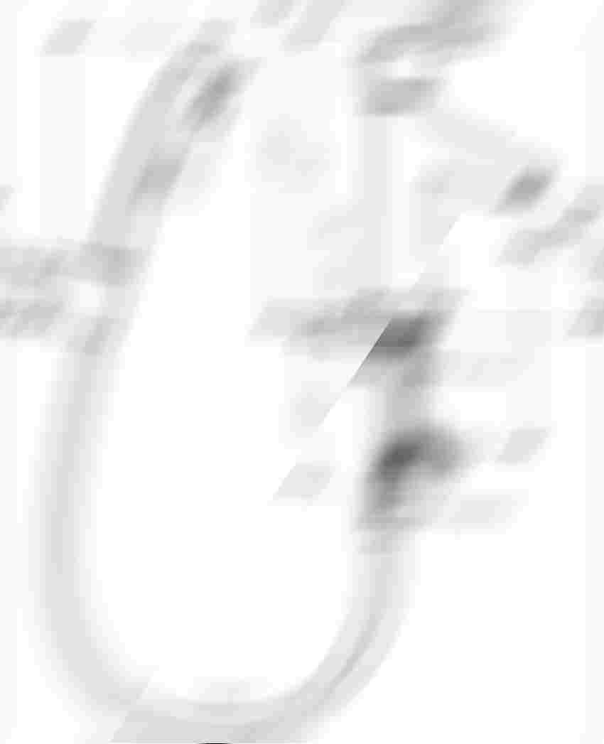 Jednouchwytowa bateria umywalkowa z główką bidetta Hansgrohe Talis S rysunek techniczny