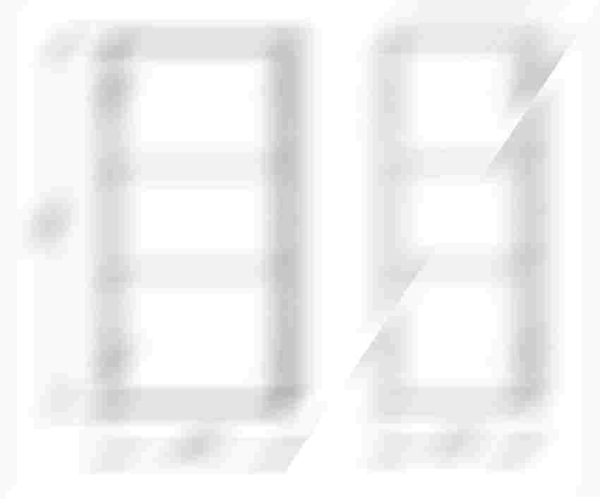 Szafka wisząca 40 cm Elita Look rysunek techniczny